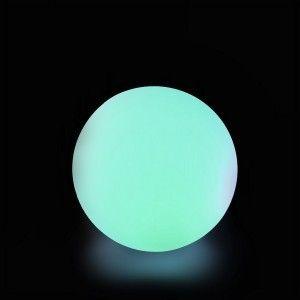 Шар светящийся LED, диам. 20 см., разноцветный (RGB), пылевлагозащита IP65, 220V