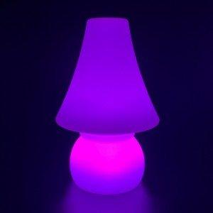 Садовый уличный светильник Гном LED DWARF c разноцветной RGB подсветкой и пультом ДУ IP65 220V — Купить в интернет-магазине LED
