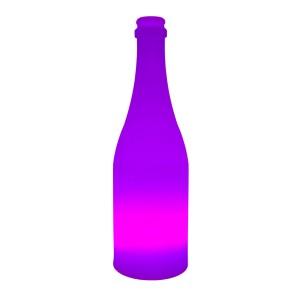 Садовый уличный светильник Бутылка LED BOTTLE c разноцветной RGB подсветкой и пультом ДУ IP65 220V — Купить в интернет-магазине