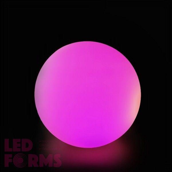Cветильник шар LED MOONBALL 30 см. разноцветный RGB с пультом ДУ IP65 220V — Купить в интернет-магазине LED Forms