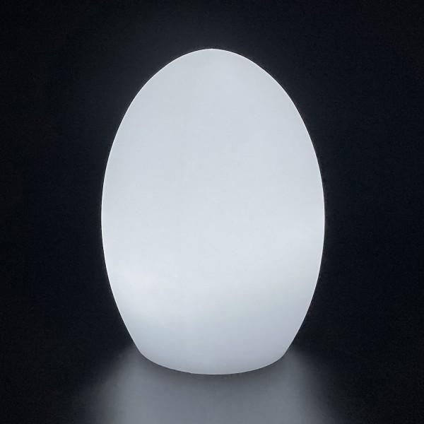 Садовый уличный светильник Яйцо LED EGG c одноцветной подсветкой IP65 220V — Купить в интернет-магазине LED Forms