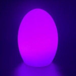 Садовый уличный светильник Яйцо LED EGG c разноцветной RGB подсветкой и пультом ДУ IP65 220V — Купить в интернет-магазине LED Fo