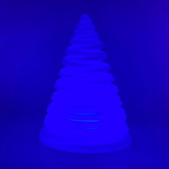 Настольная лампа Спираль LED SPIRAL с разноцветной RGB подсветкой и пультом ДУ IP65 220V — Купить в интернет-магазине LED Forms