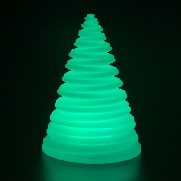 Садовый светильник LED Spiral, светодиодный, разноцветный RGB, с пультом ДУ, IP65