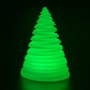 Садовый уличный светильник Спираль LED SPIRAL c разноцветной RGB подсветкой и пультом ДУ IP65 220V — Купить в интернет-магазине