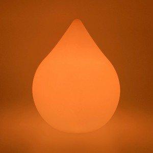 Настольная лампа Капля LED DROP с разноцветной RGB подсветкой и пультом ДУ IP65 220V — Купить в интернет-магазине LED Forms