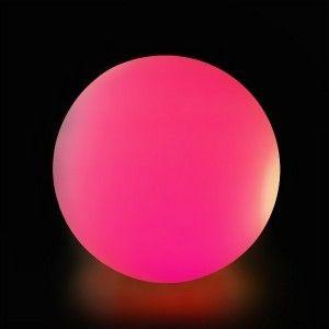 Cветильник шар беспроводной LED MOONBALL 40 см. разноцветный RGB с аккумулятором и пультом USB IP68 — Купить в интернет-магазине