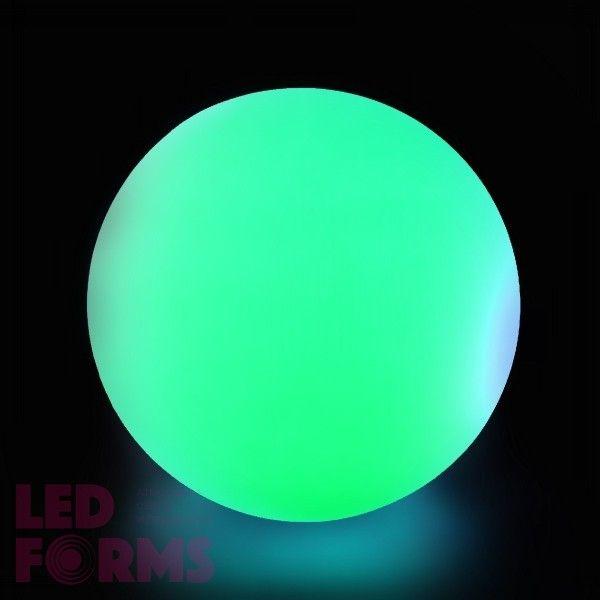 Cветильник шар беспроводной LED MOONBALL 50 см. разноцветный RGB с аккумулятором и пультом USB IP68 — Купить в интернет-магазине