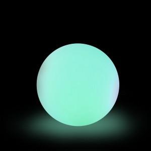 Шар светящийся LED Moonlight Exterior, диам. 20 см., светодиодный, разноцветный RGB, 220V — Купить в интернет-магазине LED Forms