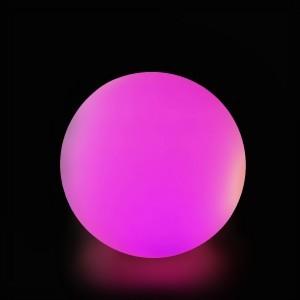 Шар светящийся LED Moonlight Exterior, диам. 40 см., светодиодный, разноцветный RGB, 220V — Купить в интернет-магазине LED Forms