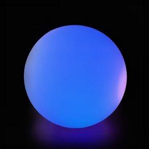 Шар светящийся LED Moonlight Exterior, диам. 50 см., светодиодный, разноцветный RGB, 220V — Купить в интернет-магазине LED Forms