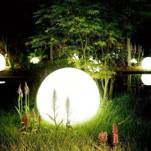Шар светящийся LED Moonlight Exterior, диам. 50 см., светодиодный, цвет тёплый или холодный белый, 220V