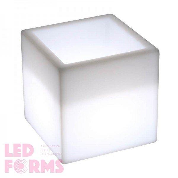 Светящееся ведро для льда и шампанского LED BAR 30 см. с белой подсветкой IP65 220V
