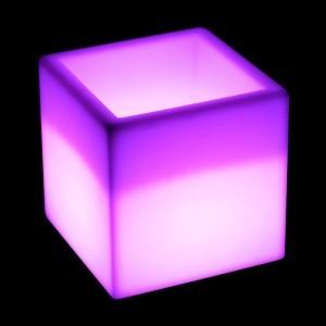 Светящееся ведро с аккумулятором для льда и шампанского LED BAR 30 см. с разноцветной RGB подсветкой IP68