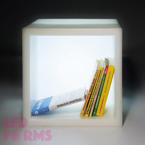 Светящееся ведро для льда и шампанского LED BAR 40 см. с белой подсветкой IP65 220V — Купить в интернет-магазине LED Forms