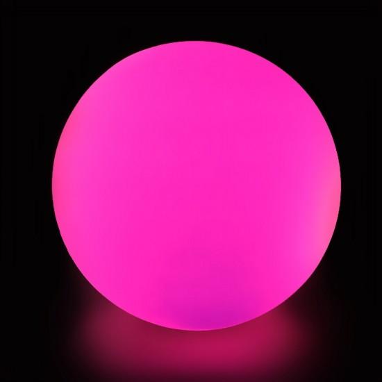 Cветильник шар беспроводной LED MOONBALL 60 см. разноцветный RGB с аккумулятором и пультом USB IP68 — Купить в интернет-магазине