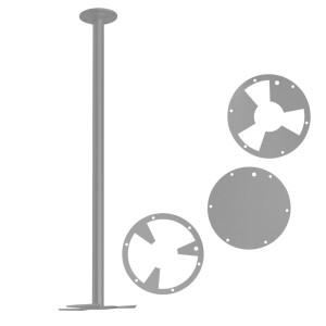 Потолочное крепление-штанга для светильников и световых фигур
