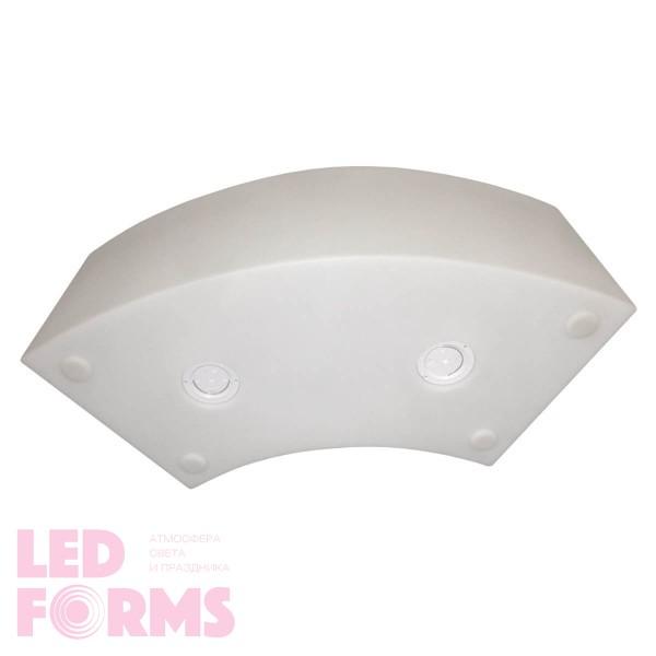 Светящаяся скамейка LED ARENA со светодиодной белой подсветкой IP65 220V — Купить в интернет-магазине LED Forms