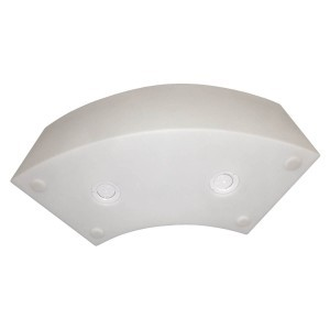 Светящаяся скамейка LED ARENA со светодиодной белой подсветкой IP65 220V