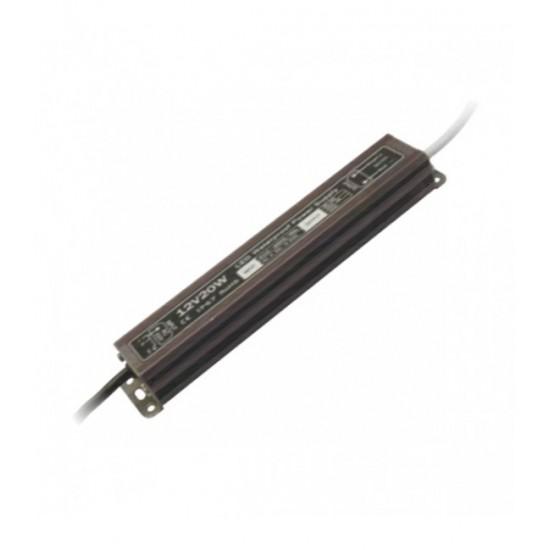Блок питания с трансформатором для светодиодных светильников 30 Вт. 24V IP67 — Купить в интернет-магазине LED Forms