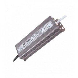 Блок питания с трансформатором для светодиодных светильников 60 Вт. 24V IP67