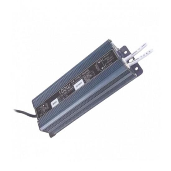 Блок питания с трансформатором для светодиодных светильников 100 Вт. 24V IP67 — Купить в интернет-магазине LED Forms