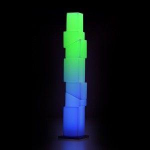 Напольный торшер LED New York L, высота 183 см., разноцветный RGB, с пультом ДУ, IP65