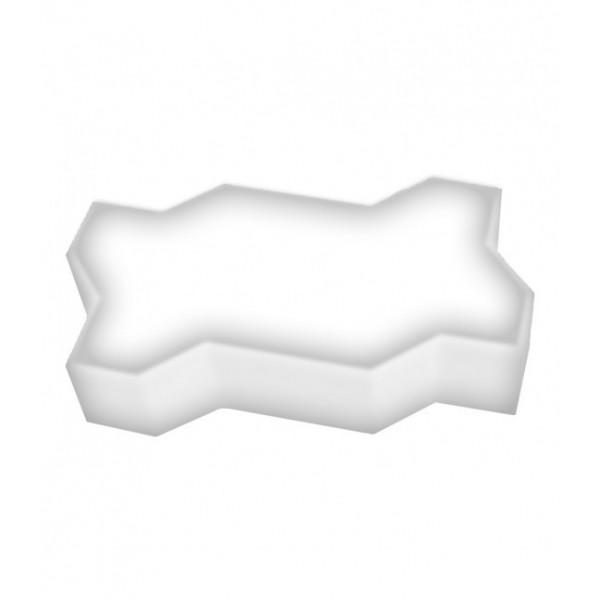Светодиодная брусчатка LED LUMBRUS Zigzag 225x112x60 мм. одноцветная белая IP68
