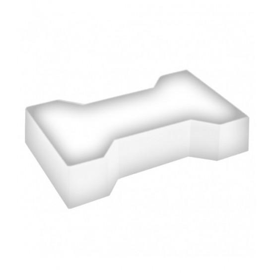 Светодиодная брусчатка LED LUMBRUS Spool-2 225x140x40 мм. одноцветная белая IP68