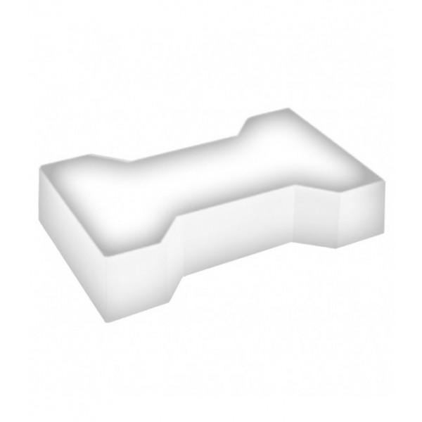 Светодиодная брусчатка LED LUMBRUS Spool-2 225x140x60 мм. одноцветная белая IP68