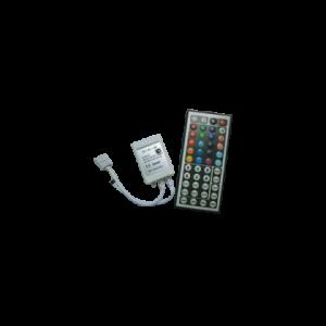 Контроллер RGB для разноцветных светодиодных светильников 12V 72 Вт. / 24V 144 Вт. с большим ИК-пультом ДУ