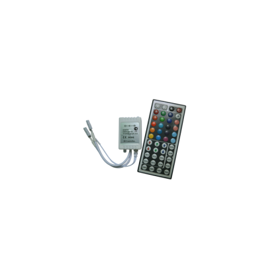 Контроллер RGB для тротуарных светильников 144 Вт. 12V (288 Вт. 24V) с большим инфракрасным пультом ДУ