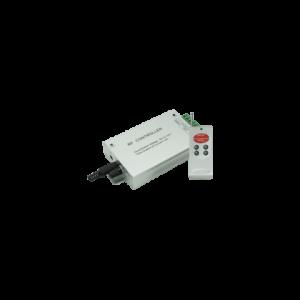 Аудио-контроллер RGB для разноцветных светодиодных светильников 12V 144 Вт. / 24V 288 Вт. с радио-пультом ДУ