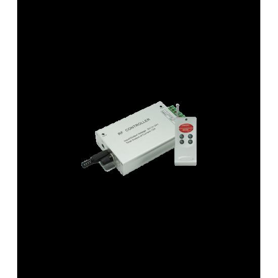 Аудио-контроллер RGB для тротуарных светильников 144 Вт. 12V (288 Вт. 24V) с радиопультом ДУ
