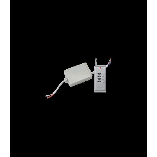 Контроллер RGB для светодиодных светильников 12V 144 Вт. / 24V 288 Вт. с радио-пультом ДУ — Купить в интернет-магазине LED Forms
