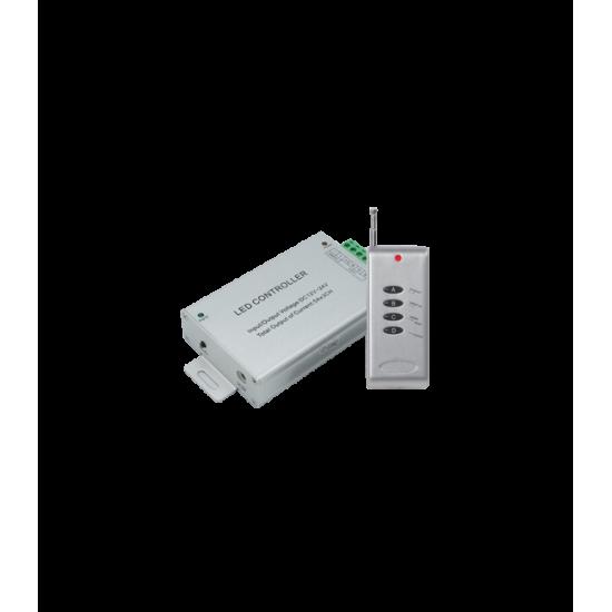 Контроллер RGB для тротуарных светильников 180 Вт. 12V (360 Вт. 24V) с радиопультом ДУ