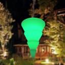 Подвесной светильник Ёлочка LED CONIC c разноцветной RGB подсветкой и пультом ДУ IP65