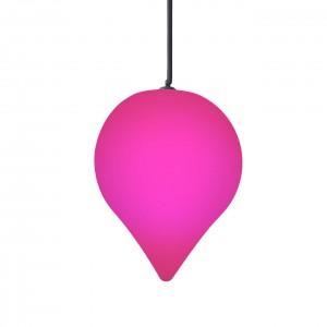 Подвесной светильник Капля LED DROP c разноцветной RGB подсветкой и пультом ДУ IP65