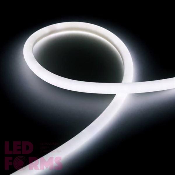 Гибкий неон LED NEON Flex 14 мм. с холодной белой подсветкой IP67 220V
