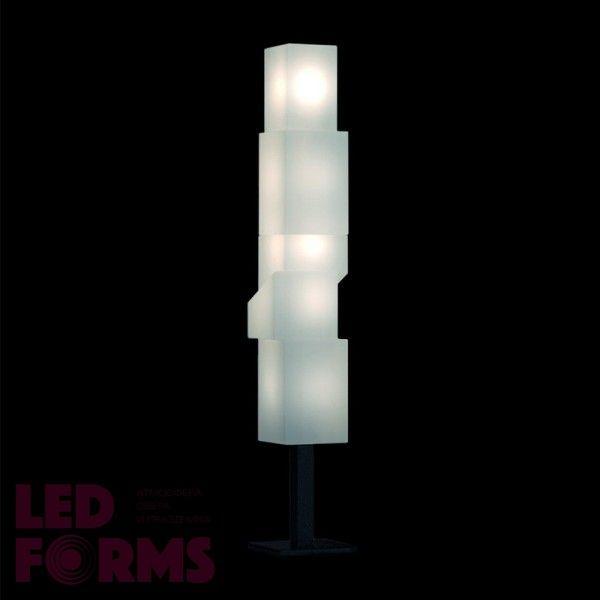 Светильник напольный (торшер) LED New York S Bright, высота 147 см., светодиодный, цвет тёплый белый, пылевлагозащита IP65
