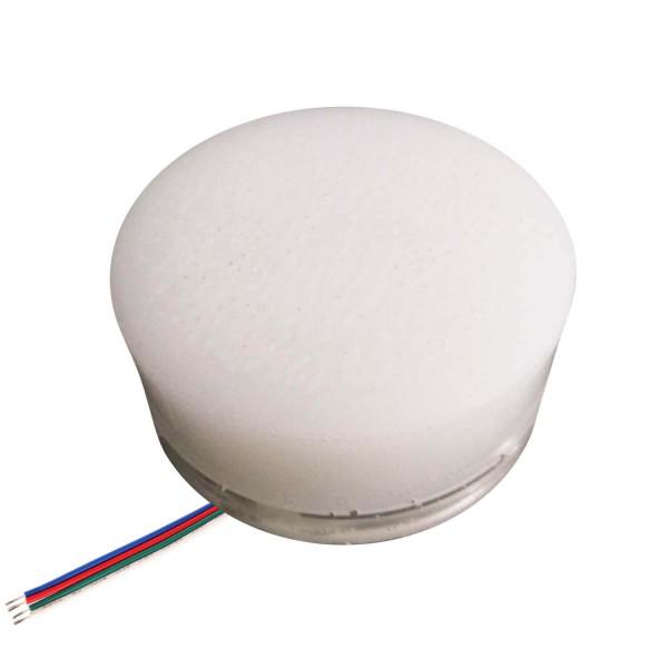 Грунтовый светильник LED LUMBRUS Spot 50x60 мм. разноцветный RGB IP68