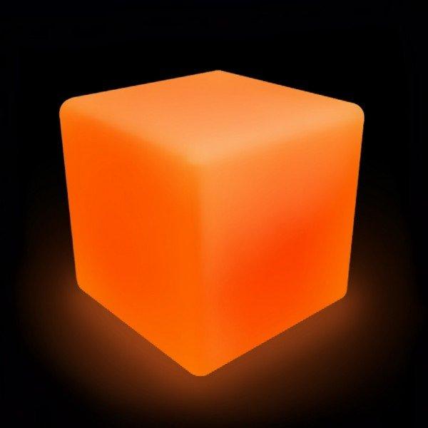 Светильник куб LED CUBE 75 см. разноцветный RGB с пультом ДУ IP65 220V