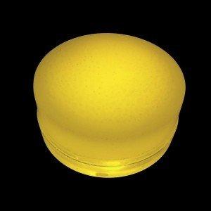 Грунтовый светильник LED LUMBRUS Spot 80x40 мм. одноцветный жёлтый IP68