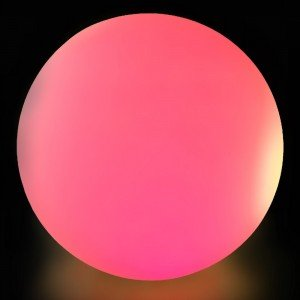 Светильник шар LED BALL 200 см. разноцветный RGB с пультом ДУ IP65 220V