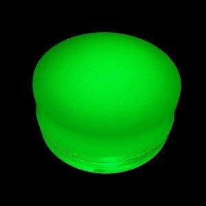 Грунтовый светильник LED LUMBRUS Spot 80x40 мм. одноцветный зелёный IP68