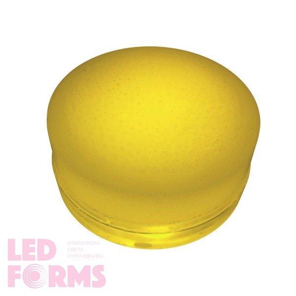 Грунтовый светильник LED LUMBRUS Spot 80x60 мм. одноцветный жёлтый IP68 — Купить в интернет-магазине LED Forms