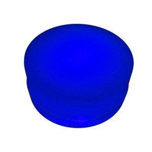 Грунтовый светильник LED LUMBRUS Spot 80x60 мм. одноцветный синий IP68