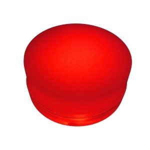 Грунтовый светильник LED LUMBRUS Spot 80x60 мм. одноцветный красный IP68