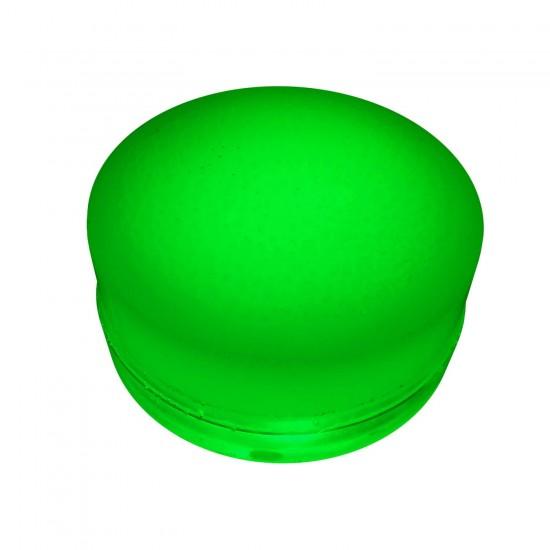 Грунтовый светильник LED LUMBRUS Spot 80x60 мм. одноцветный зелёный IP68 — Купить в интернет-магазине LED Forms