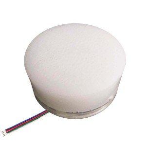 Грунтовый светильник LED LUMBRUS Spot 80x60 мм. разноцветный RGB IP68